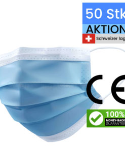 Medical disposable mask with CE certificate type II